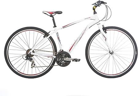 Indigo Verso S1 - Bicicleta híbrida para Hombre, Talla M (165-172 cm), Color Negro: Amazon.es: Deportes y aire libre