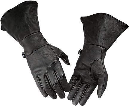 Thrashin Supply Seige Gauntlet Mens Leather Gloves Black XXL