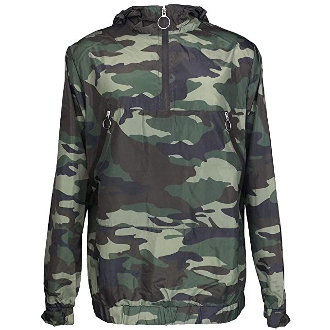 pretty and colorful genuine shoes for sale Evrimas Men's Lightweight Windbreaker Pullover Waterproof Outdoor Camo Rain  Jacket with Hooded
