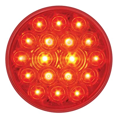 """Grand General 76015 Fleet Red 4"""" 18-LED Stop/Turn/Tail Light: Automotive"""