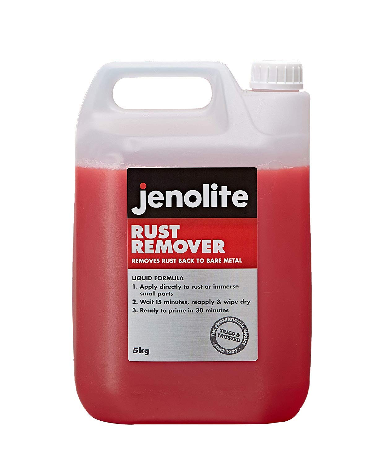 Jenolite 83383 Rust Remover, Rust Treatment - 1kg