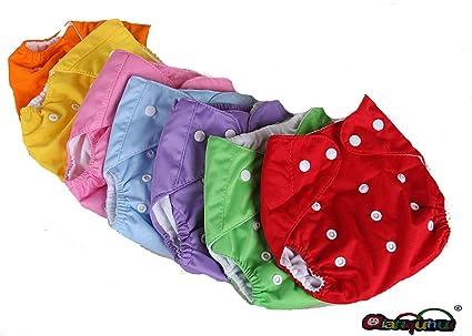 Pañales Lavables Pocket 6 piezas + 6 puntas algodón – Micropile