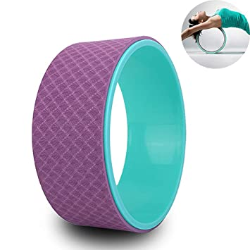CWDXD Rueda Yoga para Rueda de Yoga 33 cm × 13 cm Rodillo ...
