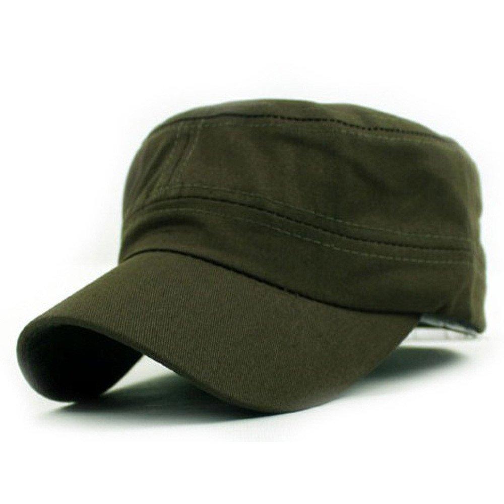 Ularma Vintage Estilo Casquillo del algodón, Sombrero sólido ...