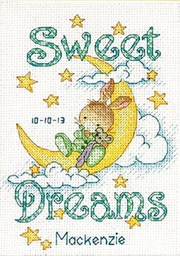 Dimensions Needlecrafts Counted Cross Stitch, Sweet Dreams Birth Record