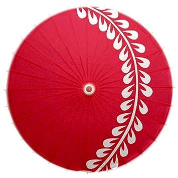 No-impermeable al óleo a mano papel japonés paraguas Restaurante decorado con paraguas #34