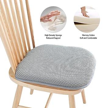 iShine - Esterilla para silla de espuma viscoelástica, 40 cm ...