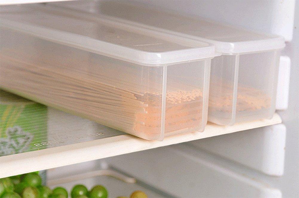 Kühlschrank Organizer Stapelbar : Hosaire 2 pcs aufbewahrungskiste kühlschrank kunststoff mit deckel