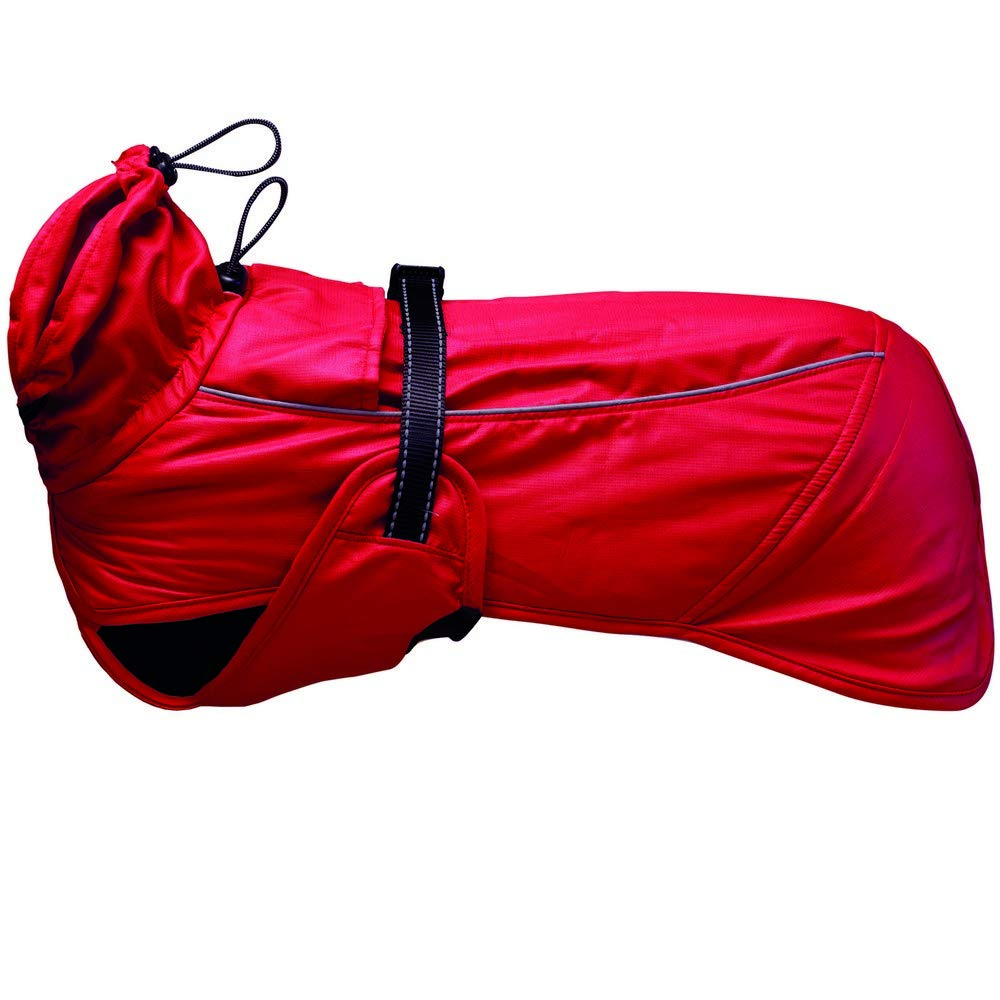 Red S Red S Ancol Muddy Paws Extreme Monsoon Dog Coat (S) (Red)