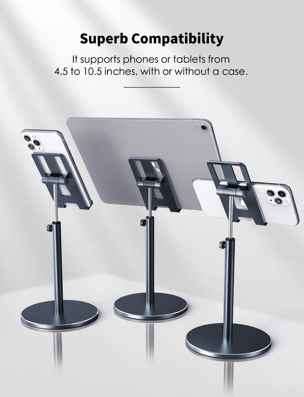 Fitfort Tablet Stand Adjustable Tablet/Phone Holder of Aluminum ...