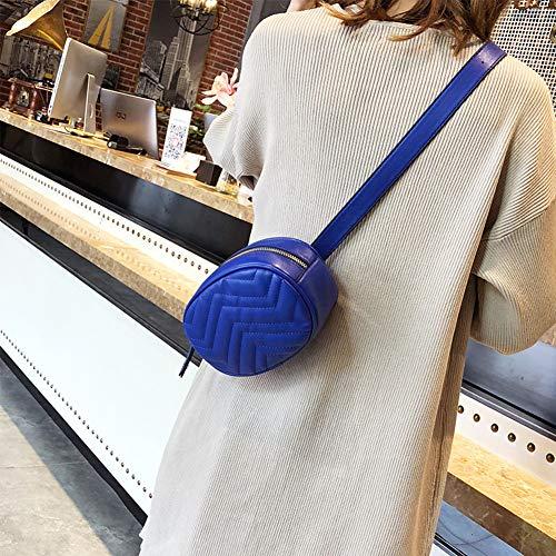 ROKFSCL para unica Bolso talla al Azul mujer Rojo hombro rosso rwWrqSRxB8