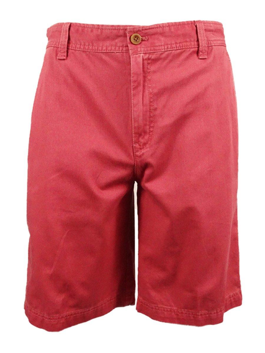 IZOD Men's Saltwater Flat Front Shorts IZOD Men's Sportswear 45SH219