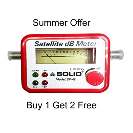 Webshoppers Satellite Signal Finder Db Meter For Full HD Dish TV Network  Setting (Sf,48)