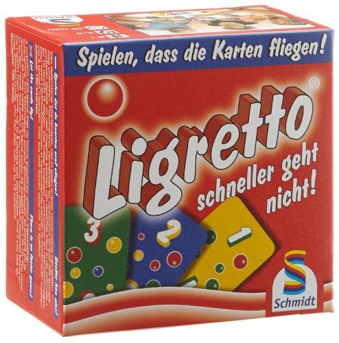Schmidt Spiele 01301 - Ligretto, rot
