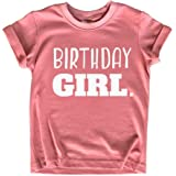Birthday Girl Shirt Girls Birthday tee Outfit Toddler Baby 1st 2nd 3rd 4th 5th 6th 7th