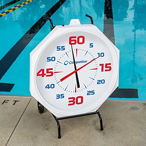 Competitive Swimming 31-inch Wall Clock