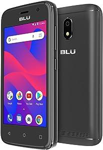 BLU C4 C050U 3G Unlocked GSM Dual-SIM w/ 5MP Front and Rear Camera's - Black