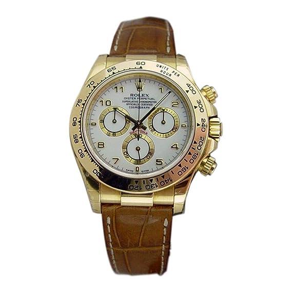 Rolex Daytona Automatic-Self-Wind 116518 - Reloj de Pulsera para Hombre (Certificado