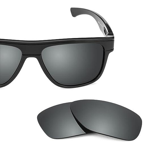 4614c6b8a0 Revant Polarized Replacement Lenses for Oakley Breadbox Elite Black Chrome  MirrorShield