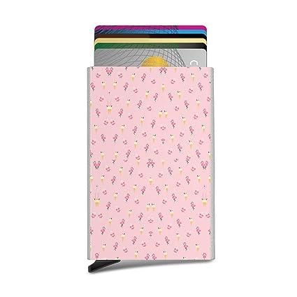 Frosty Flamingo Flamingos - Tarjeta de identificación con ...