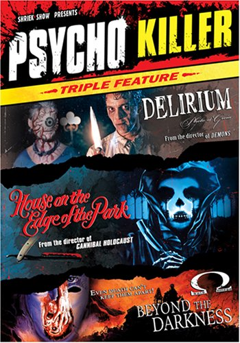 UPC 631595060393, Psycho Killer Triple Feature (Delirium / House on the Edge of the Park / Beyond the Darkness)