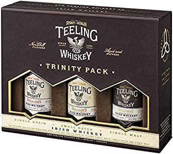 Teeling Whiskey Co. - Trinity 3 x Miniatures Gift Pack - Whisky ...