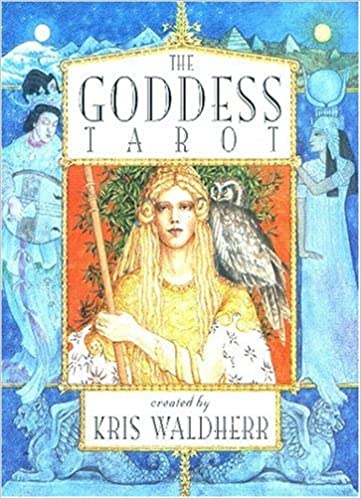 the goddess tarot deck kris waldherr 9781572810662 amazon com books