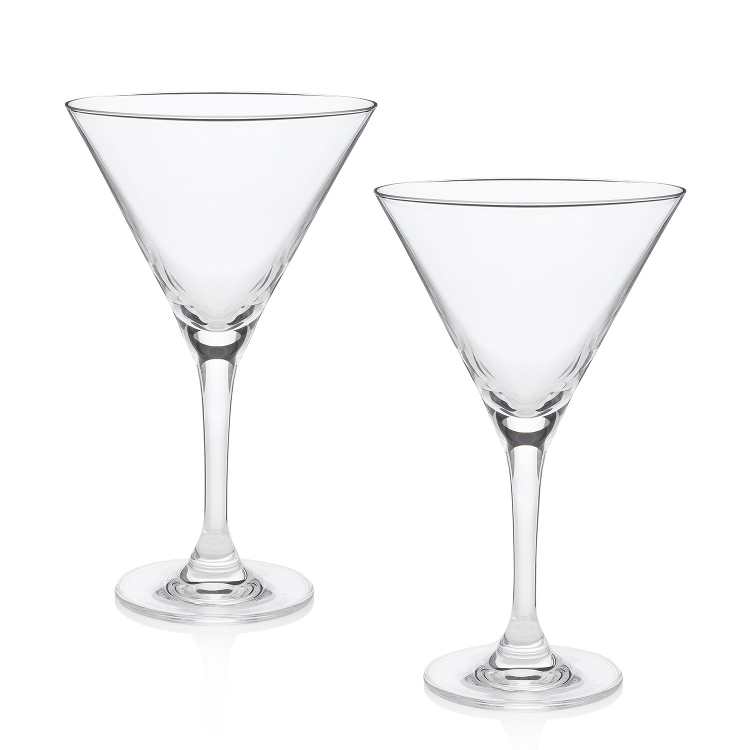 The World's Best Martini Glass (Duke's Bar Set of 2)