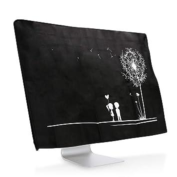 Hama Bildschirm Staubschutz-H/ülle geeignet f/ür Monitore von 48 bis 53 cm transparent 19-21 Zoll