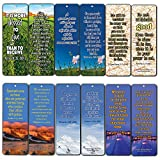 "NewEights Bible Verse Cards Giving and Generosity NIV Bookmarks (60-Pack)Size: 7""x2"" inches Double Sided Water Resistant Coating Let God's Light Shine Through You Very encouraging. Great texts to ponder upon.   Bible texts from: Acts 20:35, Luke 6..."