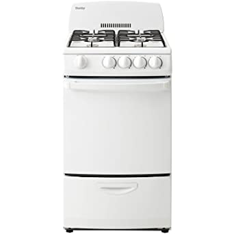 stove oven gas. danby dr200wglp 20-inch gas range with 4 burners, electronic ignition and 2.4 cubic stove oven