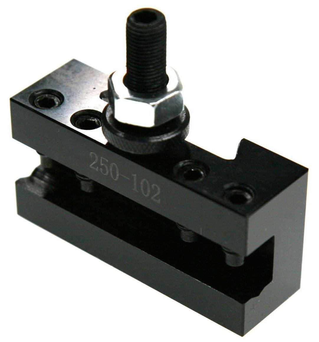 6-12'' AXA Quick Change CNC Tool Post Turning Facing Holder 1# 250-101 and Boring Turning Holder 250-102#2 Set