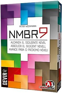 Devir - NMBR9, juego de mesa - cartón (BG9): Amazon.es: Juguetes y ...