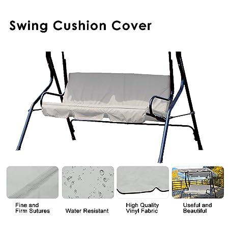 Essort Swing Seat Cover Waterproof Outdoor Garden Swing Seat