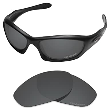 82ecd97316 Tintart Performance Lenses Compatible with Oakley Monster Dog Polarized  Etched-Carbon Black