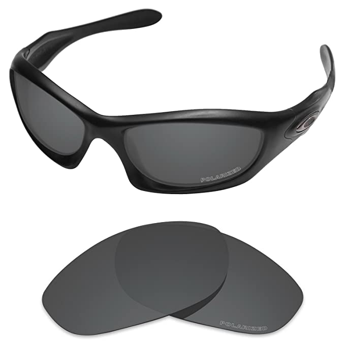 0e7333c6c93b2 Amazon.com  Tintart Performance Lenses Compatible with Oakley Monster Dog  Polarized Etched-Carbon Black  Clothing