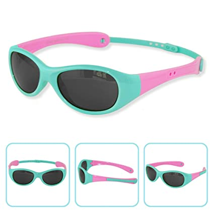 0d79168cc8d Boys Girls Kids 0-3 Years Old Toddler Polarized UV Protection Sunglasses  NSS0701 (babyblue