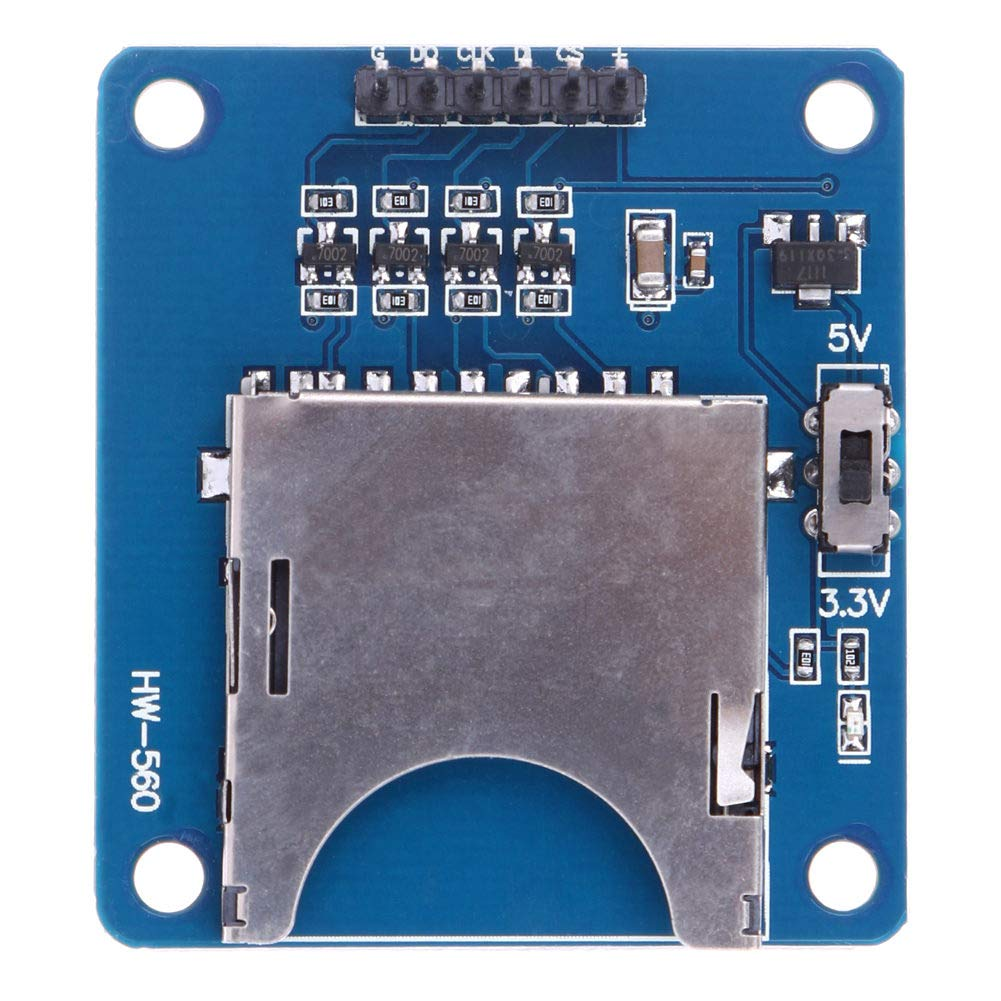 3Pcs SD TF 2in1 Dual Card Reader Storage Module Board 3.3V//5V for Arduino