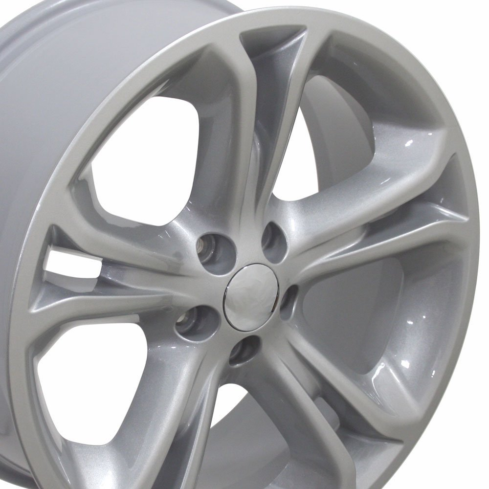 20x8.5 Wheel Fits Ford SUV - Explorer Style Silver Rim, Hollander 3860 by OE Wheels LLC (Image #5)