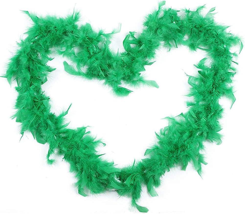 2M Feather Boa Strip Fluffy Craft Costume Dressup Wedding Party Flower Decoratio
