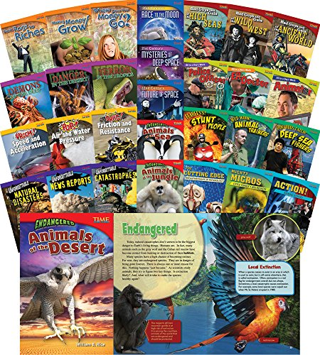 TIME FOR KIDS® Informational Text Grade 5 Readers 30-Book Set (TIME FOR KIDS® Nonfiction Readers) by Shell Education