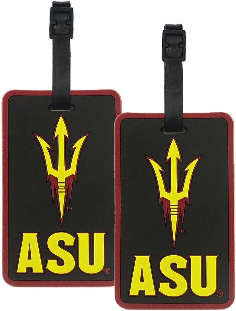 NCAA Arizona State Sun Devils Soft Luggage Bag Tag