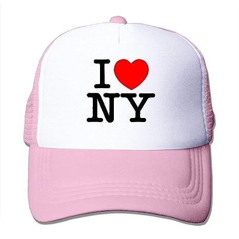 Michael Staton Gorras Ajustables para Adultos I Love NY New York ...