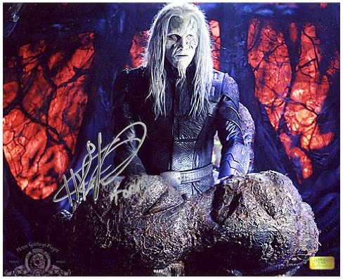 Christopher Heyerdahl Autographed 8x10 Todd The Wraith Photo 1 W Todd Insc At Amazon S Entertainment Collectibles Store
