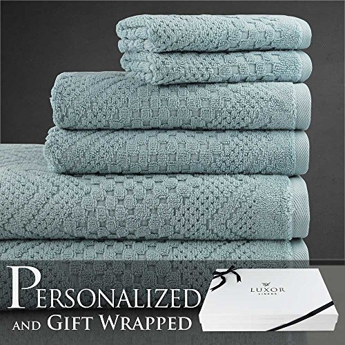 luxor-linens-bronzino-collection-egyptian-cotton-jacquard-6-piece-towel-set-cameo-blue