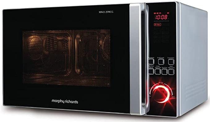 morphy richards 25 l convection microwave oven 25mcg black rh amazon in morphy richards microwave ag820akf user manual morphy richards microwave oven instruction manual