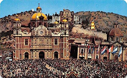 La Basilica de Guadalupe Mexico Postcard Tarjeta Postal at ...
