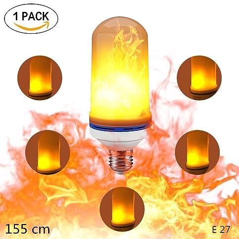 Led Bulb Flame, KACOOL LED Bulb E27 Lamp Flicker Light Flimmer Fire Bulbs  LED Bulb