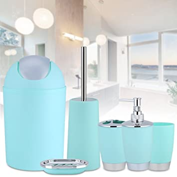 Badezimmer seifenspender set,6-teiliges Badezimmer Set Badezimmer ...