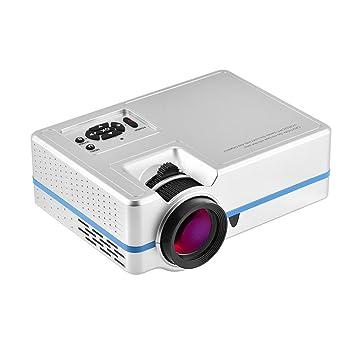 fosa Mini Proyector LED HD 1080p, con Sonido Estéreo 2W, Interfaz ...
